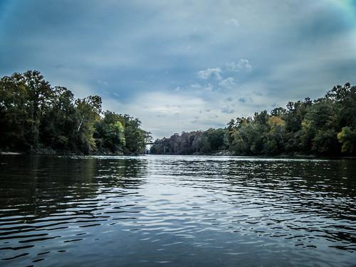 Savannah River from Stokes Bluff with LCU Nov 7, 2014, 4-18 PM Nov 8, 2014, 10-056