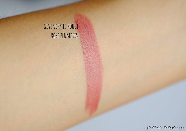 Givenchy Le Rouge Rose Plumetis swatch