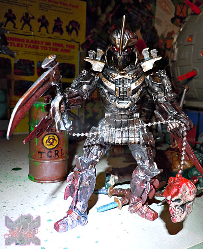 """NINJA TURTLES"" Movie :: SHREDDER  { tOKKustom MOVIE MANIAC } xi / ..Kusarigama (( 2014 ))"