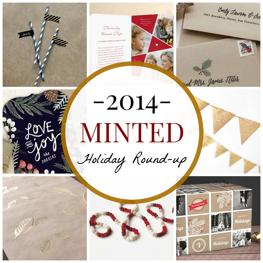 minted holiday roundup
