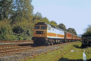 47829 in POLICE livery at Hemerdon NE of Plymouth