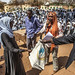 UNAMID Staff Members Distribute Stationery to Students in Malit