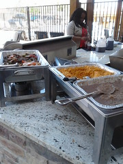 Tex-Mex lunch at the 2017 FOCUS ON LIVING VICTORIOUSLY event at the Homewood Suites in Trophy Club Texas