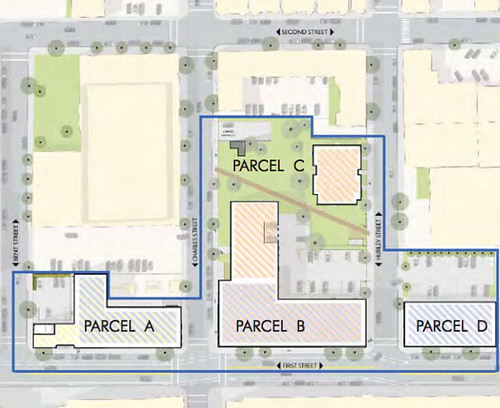 First Street Site Plan