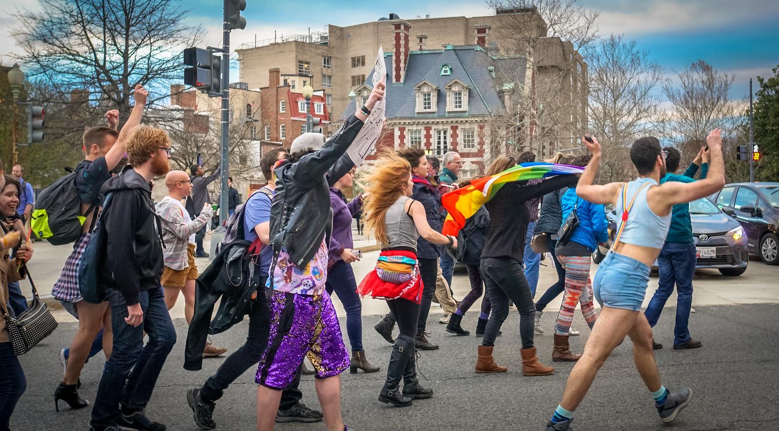 2017.04.01 Queer Dance Party - Ivanka Trump