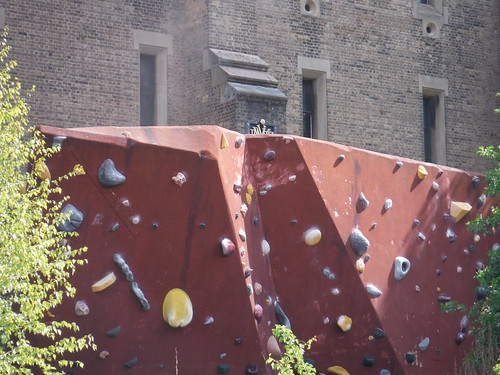 Climbing Rock, The Castle Climbing Centre, Green Lanes