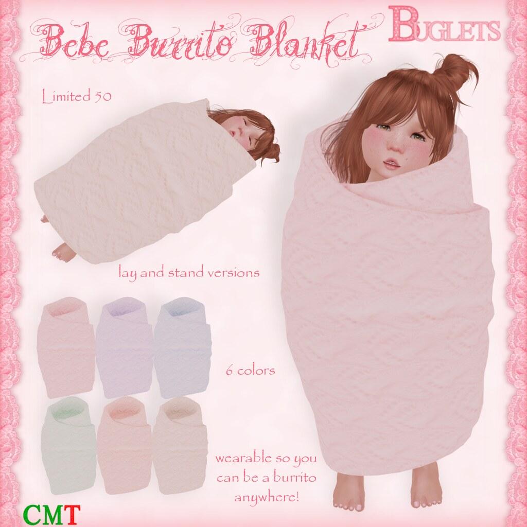 Bebe Burrito Blanket AD - SecondLifeHub.com