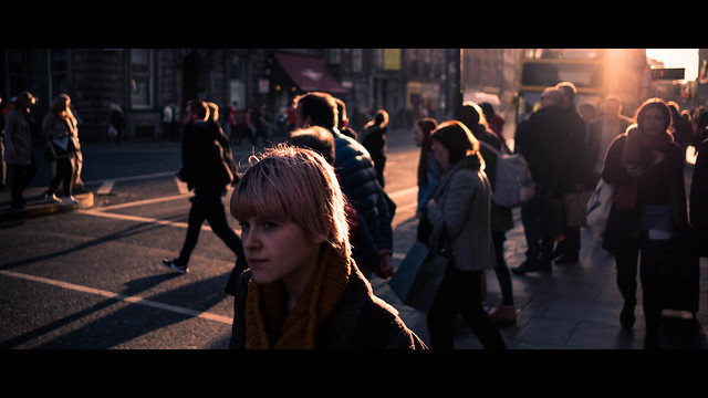 Dame street - Dublin, Ireland - Color street photography