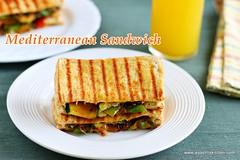 Mediterranean -sandwich