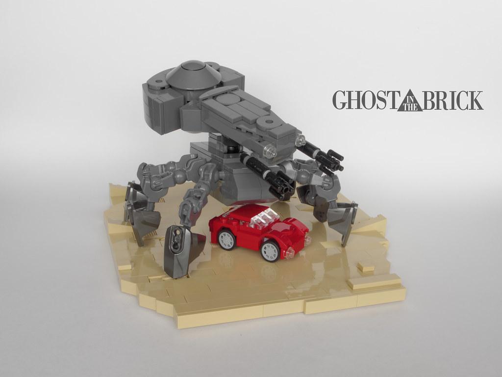 Ghost In The Brick (custom built Lego model)