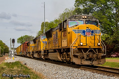 UP 4805 | EMD SD70M | NS Memphis District