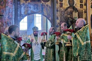 Литургия в Софийском соборе 360