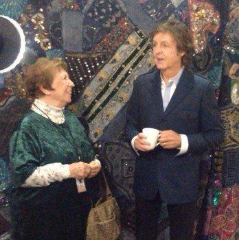 Пол Маккартни встретился с Луизой Харрисон в Сан-Диего