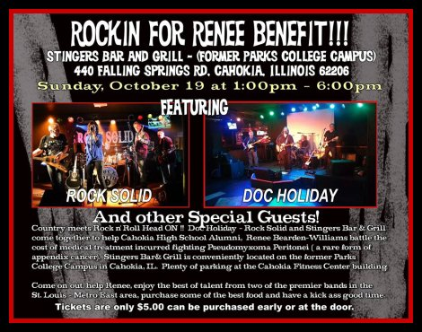 Rockin For Renee Benefit 10-19-14