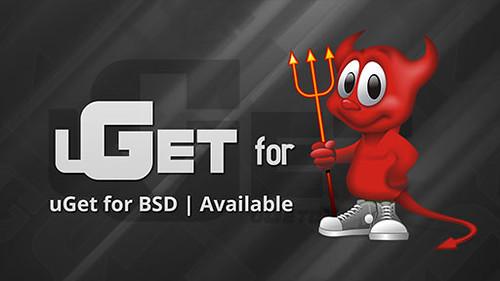 uget for BSD
