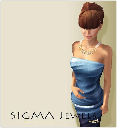 SIGMA Jewels/ Rhea necklace