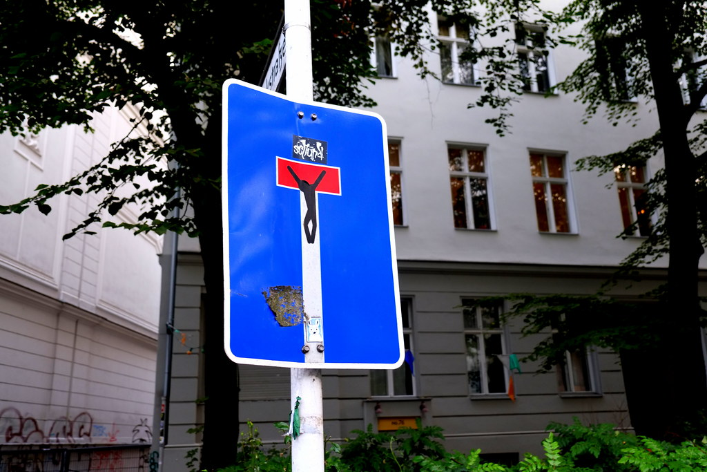 streetart | clet abraham | berlin kreuzberg