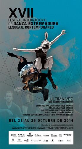 XVII Festival Internacional de Danza Extremadura - Lenguaje Contemporáneo