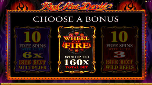 Red Hot Devil Bonus Feature