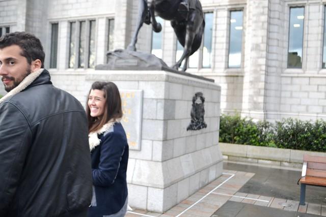 Manos visit in Aberdeen