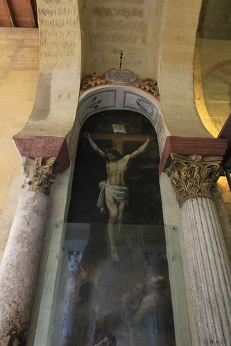 Christ between the columns
