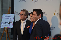 Music producer Jeff Koz, Audrey's Cookies Founder & CEO Roberta Koz Wilson, and Coalition Media Group CEO Dave Koz at the 2014 Starlight Awards #starlightonline DSC_0001