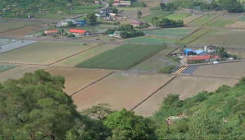 行健村民用心經營的有機夢想村。