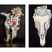 skull diptych by MTWanderer