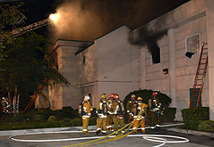 Venice Storage Fire Injures 8 LAFD Firefighters