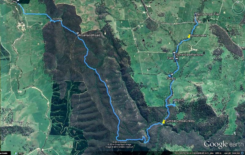 Henry Angel to Mannus creek nov2-2014
