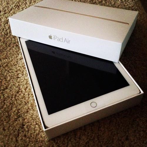 New iPad Air 2!