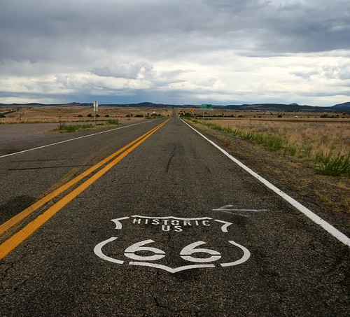 Route 66 - East of Seligman, Arizona