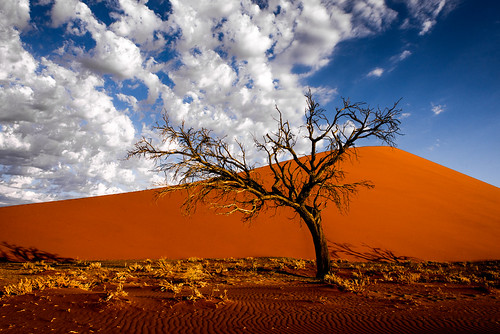 sunset nature dune namibia sossusvlei