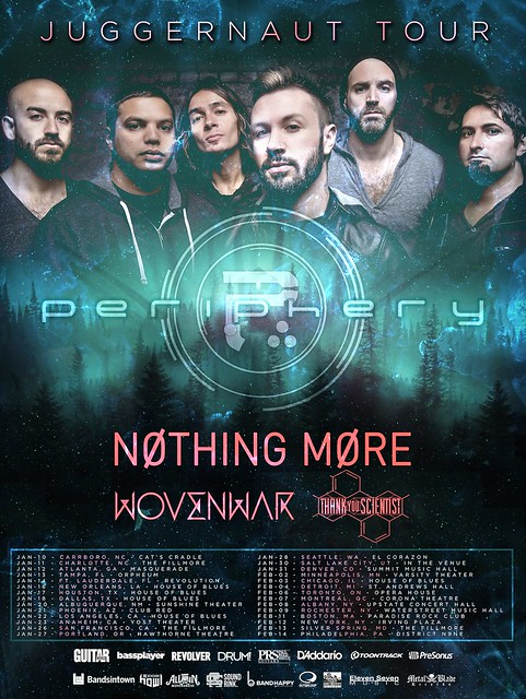 Periphery at the Fillmore Silver Spring