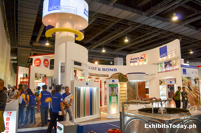 APO Floors Trade Show Stand