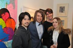 Tomonori Nishimura, Samir Ceric, Konstantinos Papaioannou and Leslie Gilbert