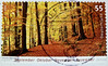 great stamp Germany € 0.55 55c autumn, fall, el otoño, 秋, autunno, о́сень, automne, Herbst, Wald forest (September, October, November, December) timbres Allemagne  우표 독일 유럽 sellos Alemania selos Alemanha γραμματόσημα Γερμανία frimerker Tyskland markica 55 by stampolina