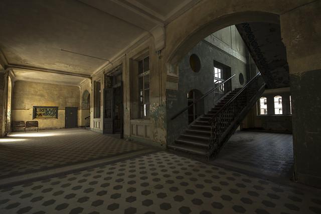 Beelitz Heilstatten Sanatorium