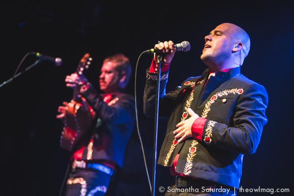 Mariachi El Bronx @ El Rey Theatre, LA 11/5/14