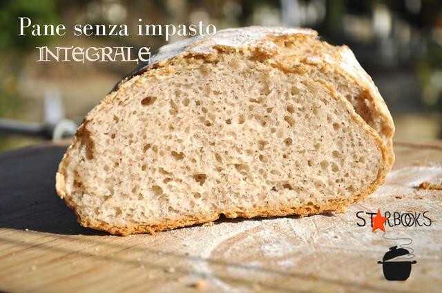 pane senza impasto integrale fetta SB