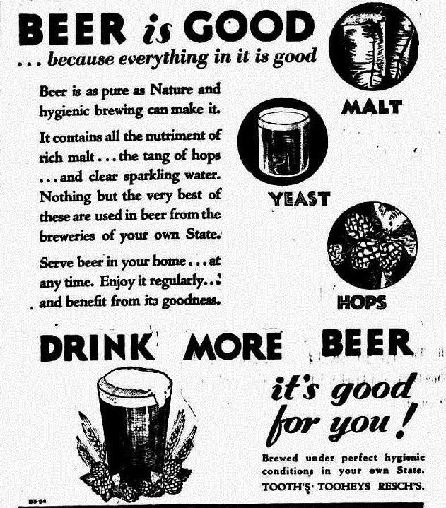 Tooheys-1932-beer-melbourne