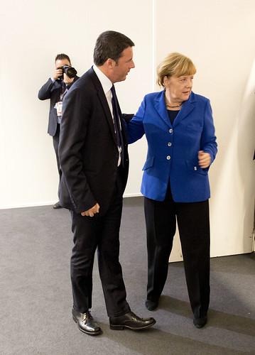 Renzi presiede la Conferenza UE sull'occupazione