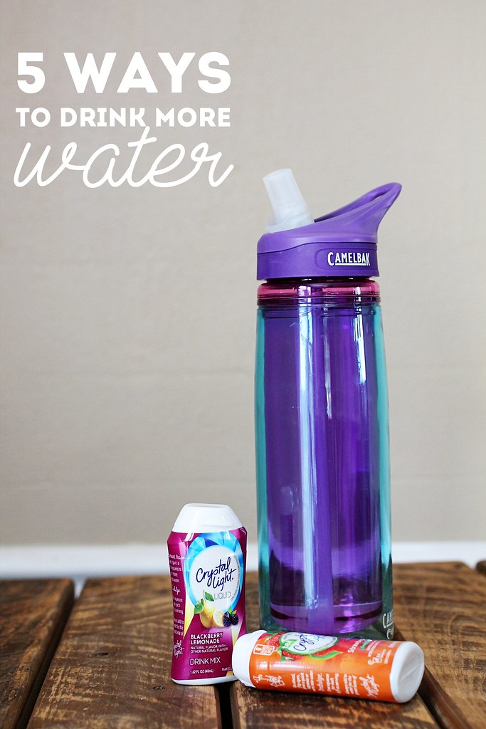 5 Ways to Drink More Water with Low Calorie Drinks