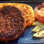 Thumbnail image for Black Bean BBQ Burgers