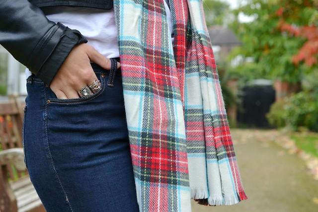 tartan primark scarf 5