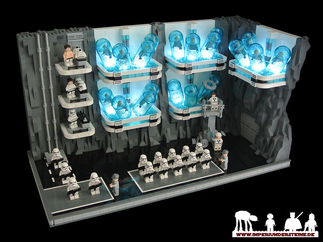 LEGO Star Wars MOC - Mount Tantiss: Cloning Chamber