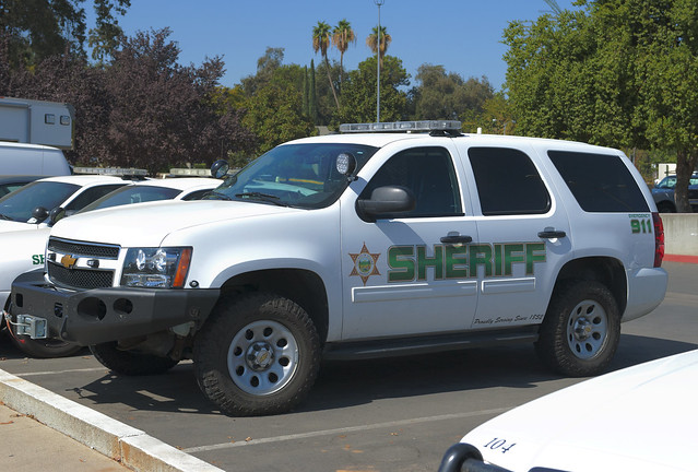 Tulare county sheriff 39 s chevy suv flickr photo sharing for Motor cars tulare ca