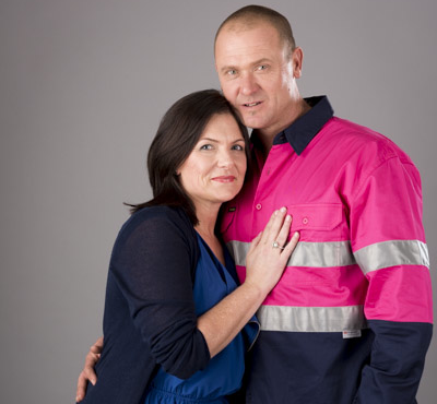 Ben Hayes' wife, Libby, is the National Breast Cancer Foundation's longest standing employee