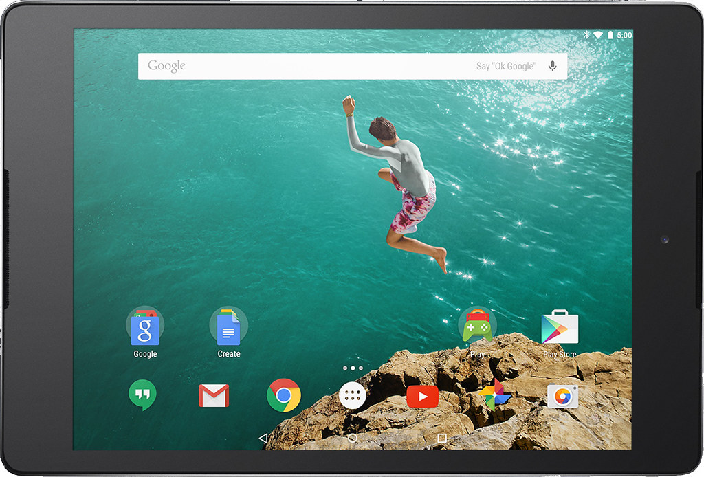 Nexus 9 full scale product image1