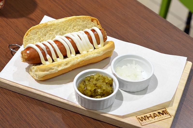 Kielbasa Wham Burger